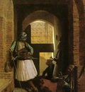 Jean Leon Gerome Arnauts Of Cairo At The Bab Ennasr