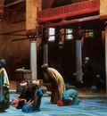 Jean Leon Gerome Prayer In The Mosque