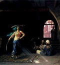 Jean Leon Gerome Sabre Dance In A Cafe