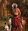 Jean Leon Gerome The Negro Master Of The Hounds