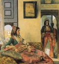 John Frederick Lewis Life In The Hareem Cairo