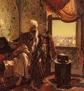 Rudolf Ernst Smoking The Hookah