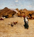 Willard Leroy Metcalf Arab Encampment Biskra