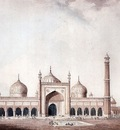 William Daniell The Jama Masjid
