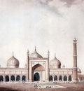 William Daniell The Jama Masjid