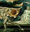 blake the body of abel found by adam eve, 1825, waterc