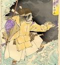 Yoshitoshi The Ghost of Taira no Tomomori