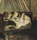 [Frederic Bazille] The Improvised Ambulance Claude Monet Wounded [1866]