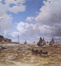 Mouth of the seine at Honfleur [1865]