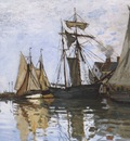 Boats in the Port of Honfleur [1866]