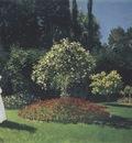 Jeanne Marguerite Lecadre in the Garden [1866]