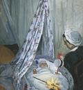 Jean Monet in his Cradle [1867]