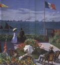 Garden at Sainte Adresse [1867]
