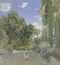 The Artists House at Argenteuil [1873]