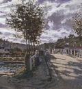 The Bridge at Bougival [1870]