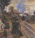 Arriving at Montgeron [1876]