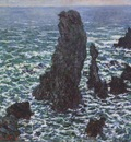 Rocks at Belle Ile [1886]