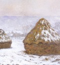 Grainstacks , Snow Effect [1890 1891]