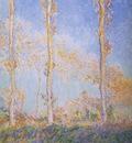 Three Poplar Trees in the Autumn [1891]