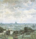view of the roofs of paris, paris