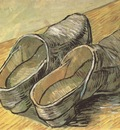a pair of wooden clogs, arles