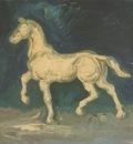 plaster statue of a horse, nuenen