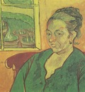 portrait of madame augustine roulin, arles