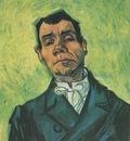 portrait of a man, arles