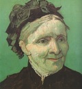 portrait of the artists mother, arles