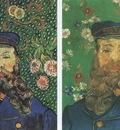 portraits of the postman joseph roulin, arles
