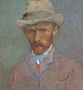 self portrait with felt hat, paris
