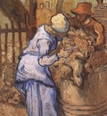 sheep shearers as millet , saint remy