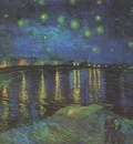 starry night over the rhone, arles