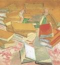 still life, books, arles