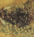 still life with grapes, paris