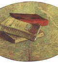 still life with three books, paris