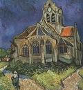 the church at auvers, auvers sur oise