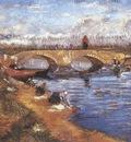 the gleizes bridge over the vigueirats canal, arles