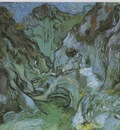 the ravine les peiroulets, saint remy