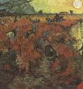 the red vineyard, arles