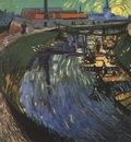 the roubine du roi canal with washerwomen, arles