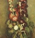 vase with roses malvas, paris