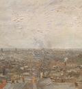 view of paris from montmartre, paris