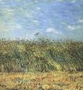 wheatfield with lark, paris