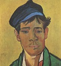 young man with cap, arles