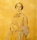 Ingres Madame Hippolyte Flandrin born Aimee Caroline Ancelot