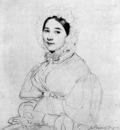 Ingres Madame Jean Auguste Dominique Ingres born Madeleine Chapelle4