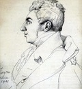 Ingres Portrait of a Man