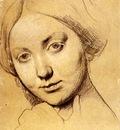 Ingres Study for Vicomtesse d Haussonville born Louise Albertine de Broglie2