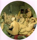 Ingres The Turkish Bath, 1862, Diameter 108 cm